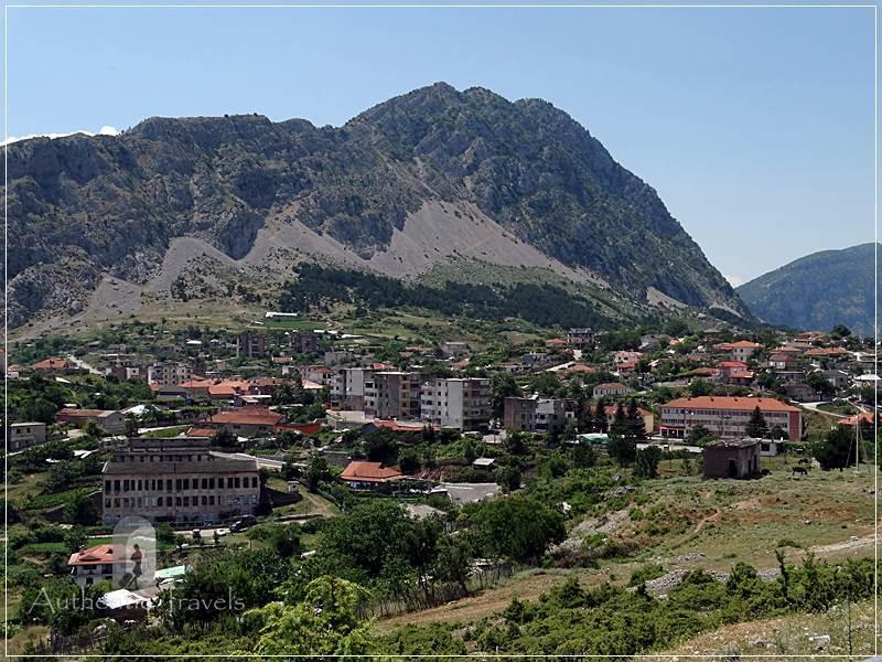 Leskovik small town - on the road from Korçë to Gjirokastra