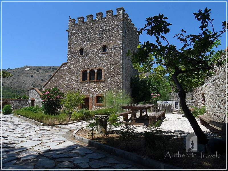 Butrint Archaeological Site - the Venetian fortress, nowadays refurbished as a museum