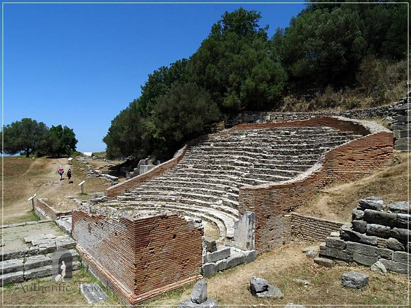 Apollonia Archaeological Site - the odeon