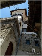 Berat - Mangalan Quarter: traditional Ottoman houses