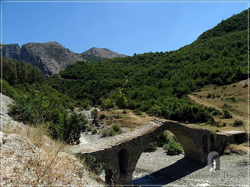 From Berat to the Osumi Canyon - the Ottoman bridge near Çorovoda Town