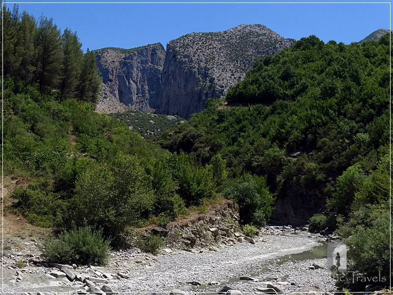 From Berat to the Osumi Canyon - Gradec Canyon near Çorovoda Town