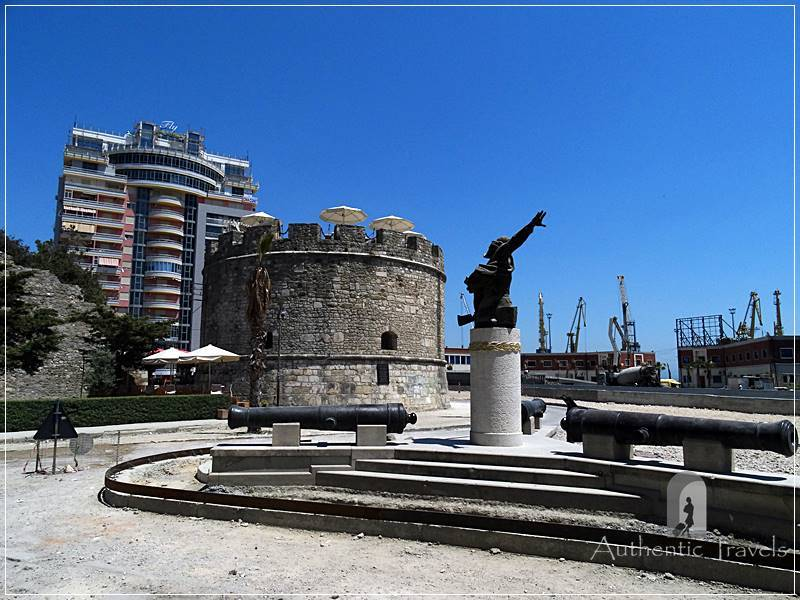 Durrës - the Venetian tower