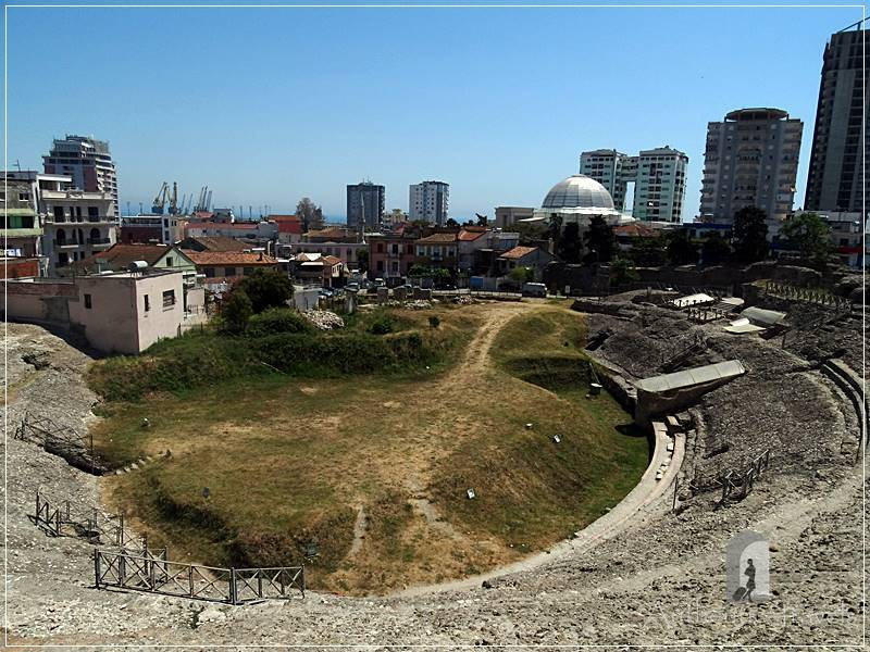 Durrës - the Roman amphitheater