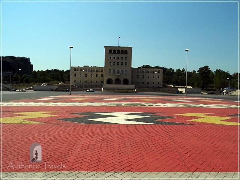 Tirana - Nënë Tereza Square