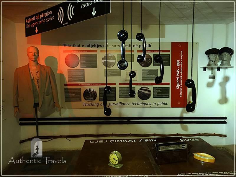 Tirana - Bunk' Art 2: rooms with informative panels