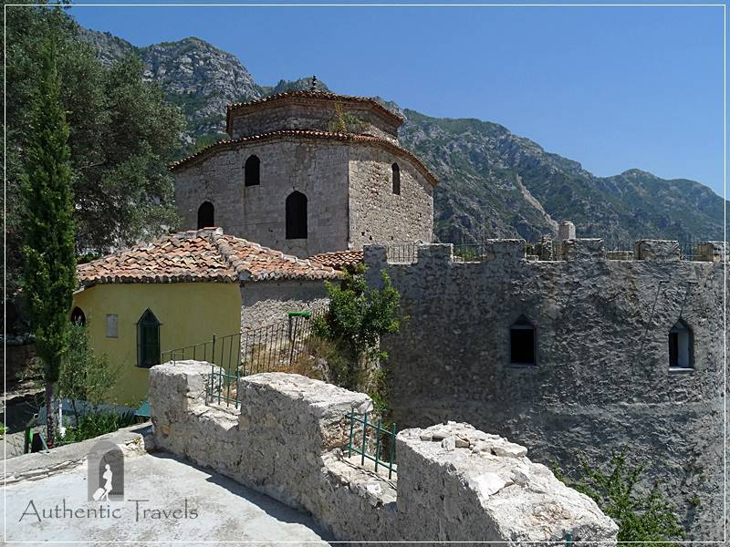 Krujë Fortress - Bektashi Teke (similar to a monastery, but belonging to Islam)