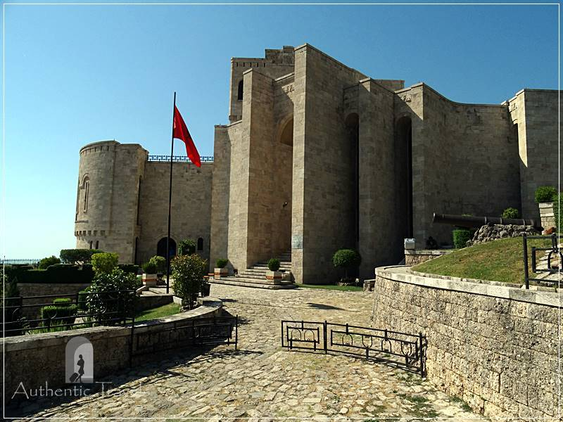 Krujë Fortress - Skanderbeg Museum (dedicated to Skanderbeg, Albania's National Hero)