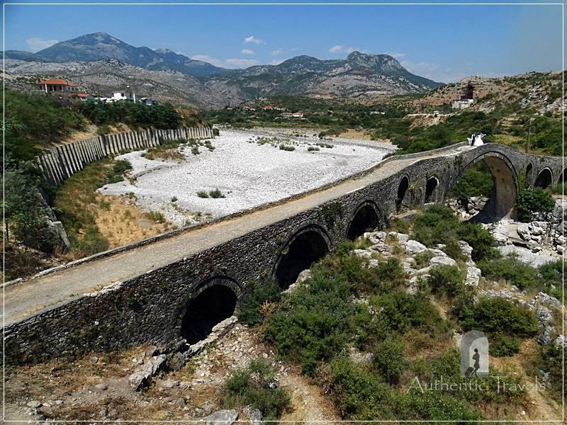 Mesi Bridge, near Shkoder