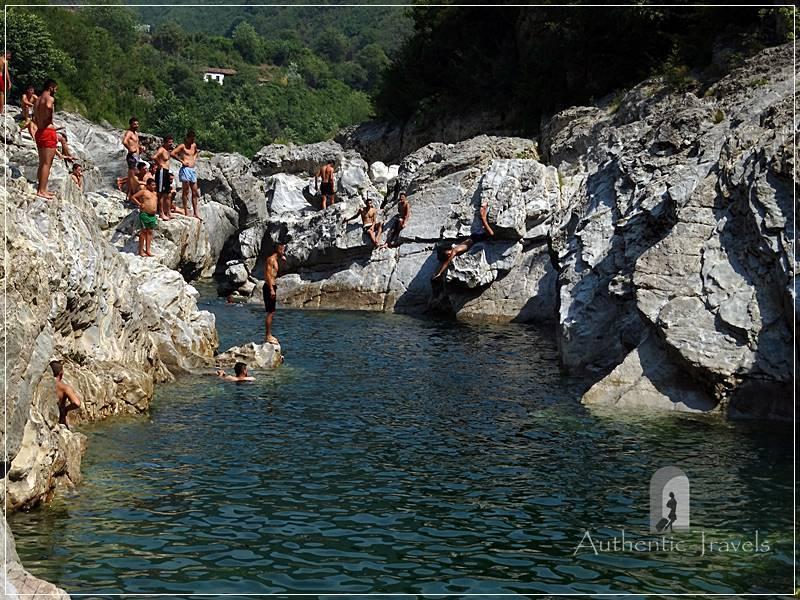 Kiri Canyons, near Shkoder