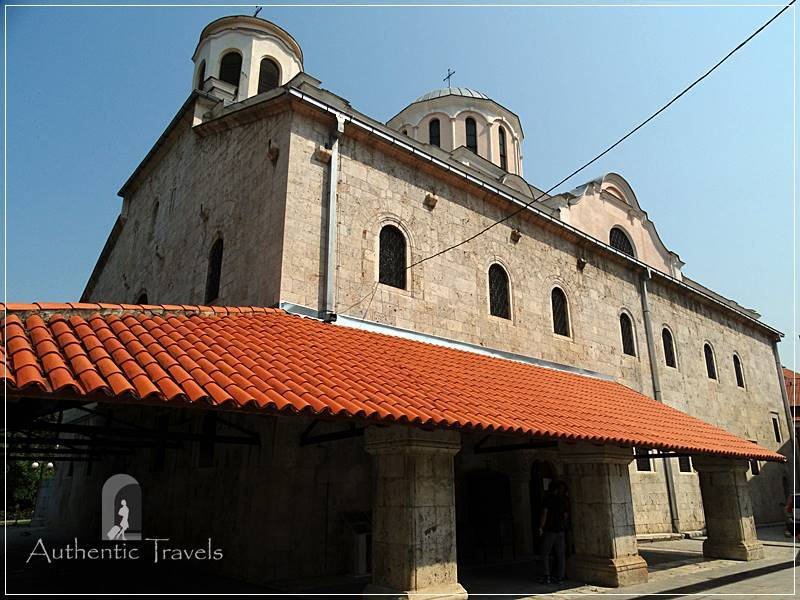 Prizren - the Serbian Orthodox Cathedral of St. George