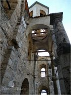 Prizren - the old bell tower of the Church of the Savior