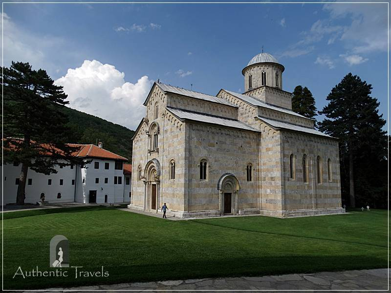 Near the Rugova Valley: Decan Monastery (still guarded by NATO in 2017)