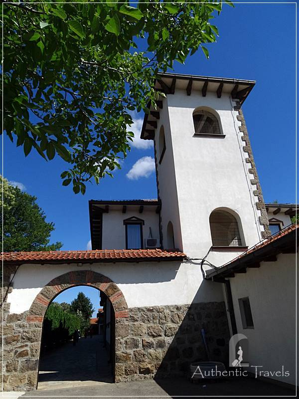 Gracanica Monastery, near Pristina - the bell tower