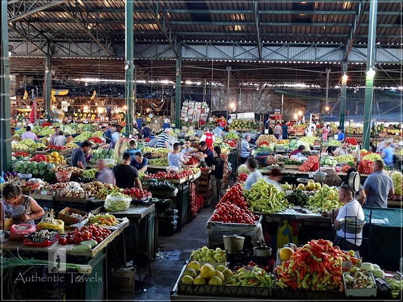 The vegetable market in Kumanovo