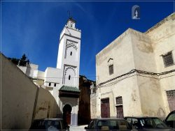 Fes old medina - the mosque in Ain Azletin neighborhood