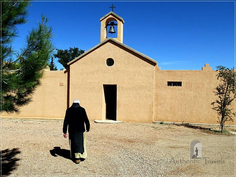 Midelt - Monastery Notre Dame de l'Atlas in the former Kasbah de Myriem: guided visit with Pere Jean Pierre