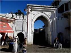 Tangier: Bab el Fahs - the main entrance in the medina coming from Grand Socco