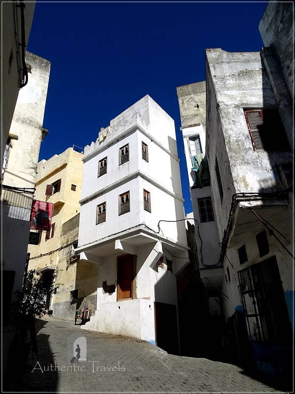 Tangier: a street in the old medina