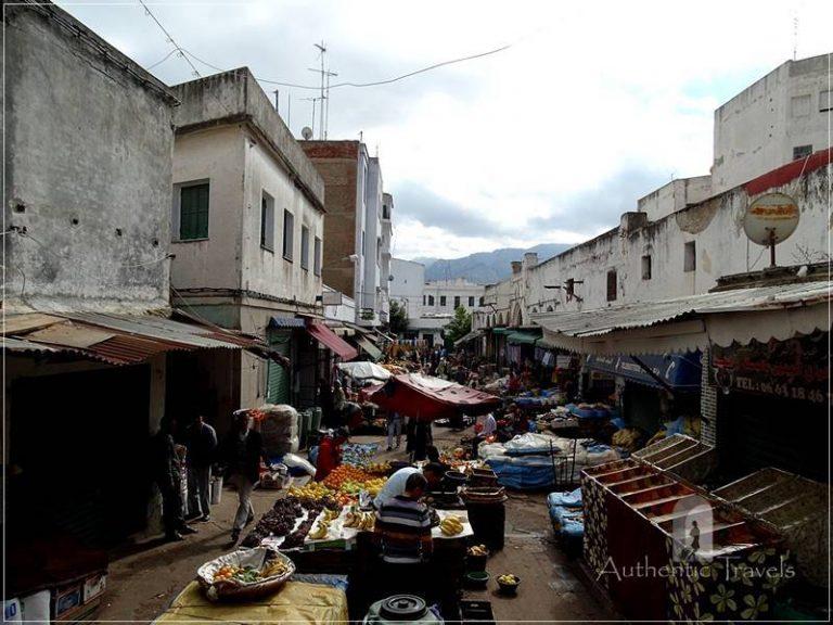 Tetouan: Gouarna area in the old medina
