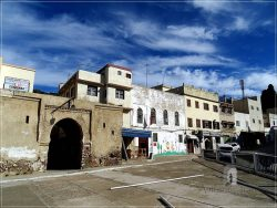 Moulay Idriss - the entrance in el Kasabah area