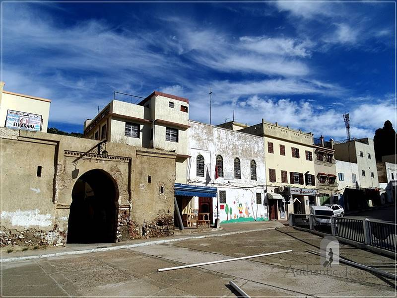 Moulay Idriss: the entrance to el-Kasabah area