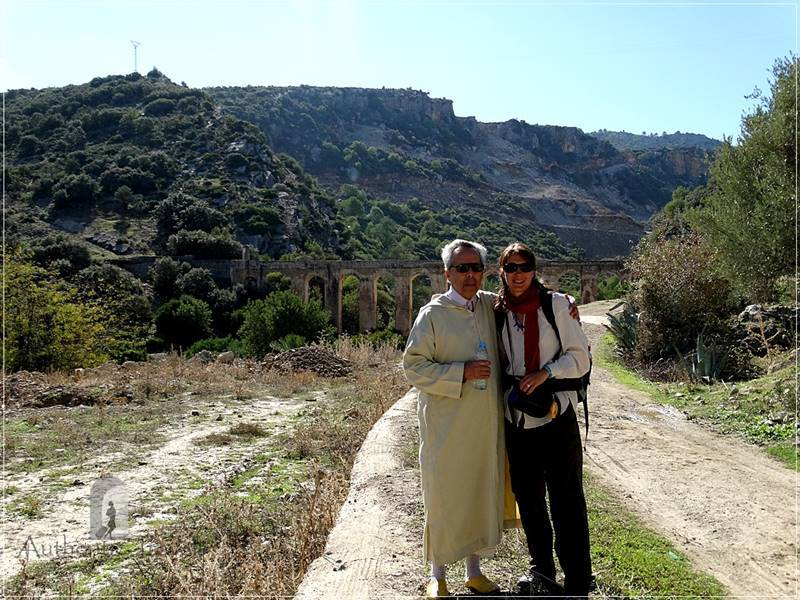Moulay Idriss: with Allal at the unknown Roman aqueduct