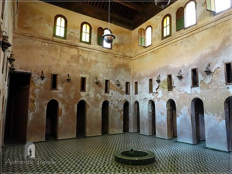 Meknes: Medersa Bou Inania - the former hammam