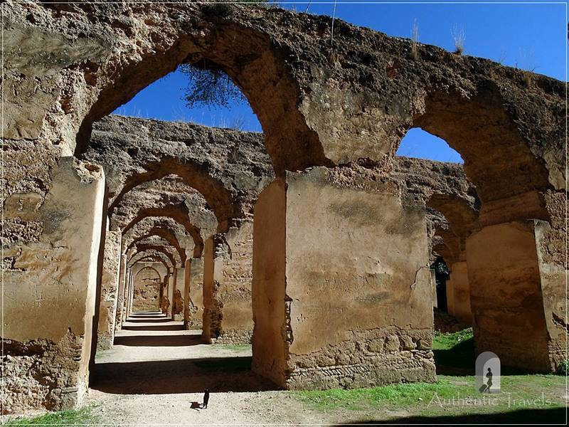 Meknes: Heri es-Souani Imperial Stables and Granaries