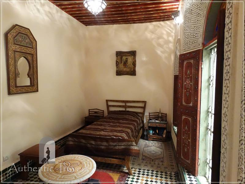 Fes: traditional Moroccan room at Dar Moula